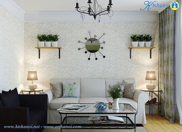 Thiết kế nhà đẹp cho căn hộ diện tích 30 mét vuông