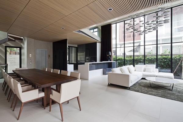 Biệt thự đẹp 3 tầng hiện đại có cây xanh kết hợp bể bơi trên tầng thượng-07