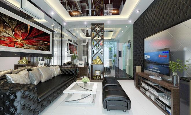 thiet-ke-nha-pho-5-tang-hien-dai-6 Thiết kế nhà phố hiện đại 5 tầng 7x13m