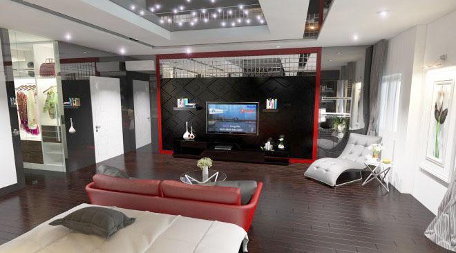 thiet-ke-nha-pho-5-tang-hien-dai-9 Thiết kế nhà phố hiện đại 5 tầng 7x13m