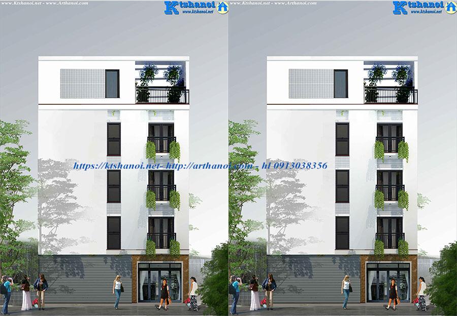 Thiết kế nhà phố để ở cho tuổi Giáp Dần 2022